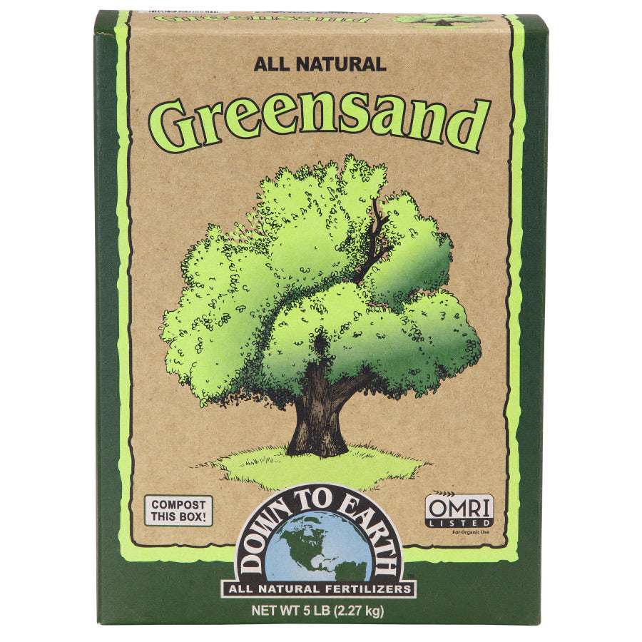 Down To Earth Greensand 5 LB
