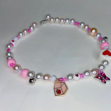 Load image into Gallery viewer, Mob Necklace - Strawberry Milk Mob
