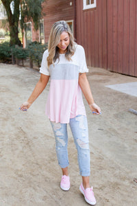 Elevate The Everyday Colorblock Top