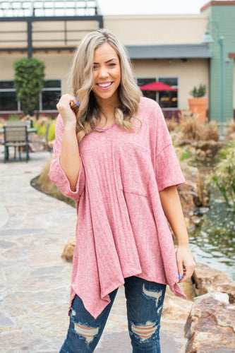 Mauvin' and Groovin' Tunic