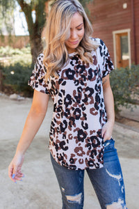 Chocolate Chip Short Sleeve Top