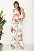 Load image into Gallery viewer, Tank floral romper