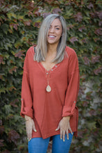 Load image into Gallery viewer, Terracotta Sweater Tunic