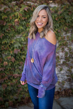 Load image into Gallery viewer, Purple Haze Long Sleeve Dolman