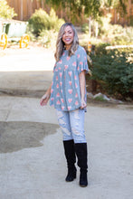Load image into Gallery viewer, Love Bug Babydoll Tunic