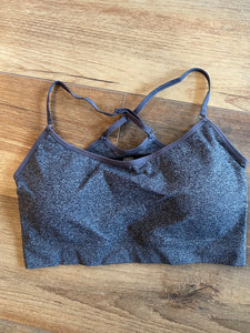 Charcoal Bralette