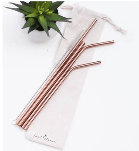 Reusable straw set- Multiple colors