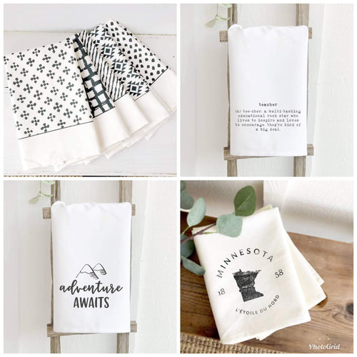 Tea Towels- Multiple Prints