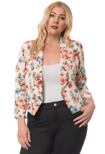 Load image into Gallery viewer, Floral Blazer