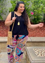 Load image into Gallery viewer, Medallion In Bloom Palazzo Pants