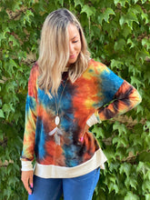 Load image into Gallery viewer, Jaw Dropping Sunset Tie Dye Weekender