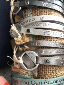 Good Works, wrap bracelet. You are beautiful.