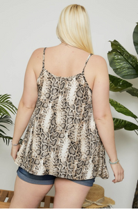 Slither Around Tank Top