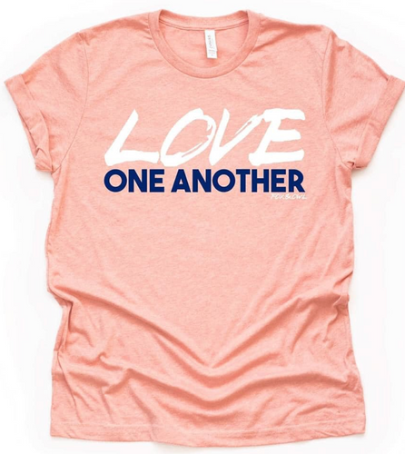 Minneapolis Fundraiser tee- love one another