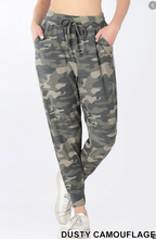 Load image into Gallery viewer, Dusty Camo joggers