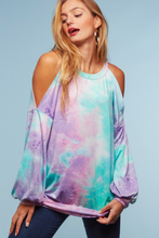 Load image into Gallery viewer, Sweet Tooth Long Sleeve Cold Shoulder