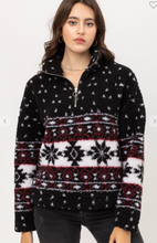 Load image into Gallery viewer, Aztec Sherpa Pullover
