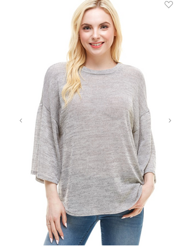 *Prime Special*- Taupe hacci sweater