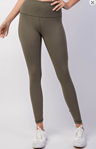 Olive work out leggings