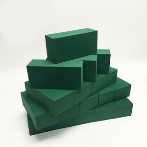 Floral Foam Brick: Box of 48 Bricks - Green