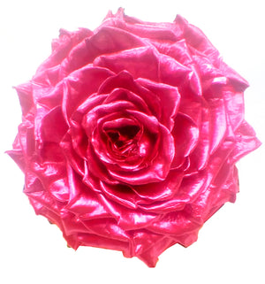 Jumbo rose: Metallic Pink Jumbo Rose