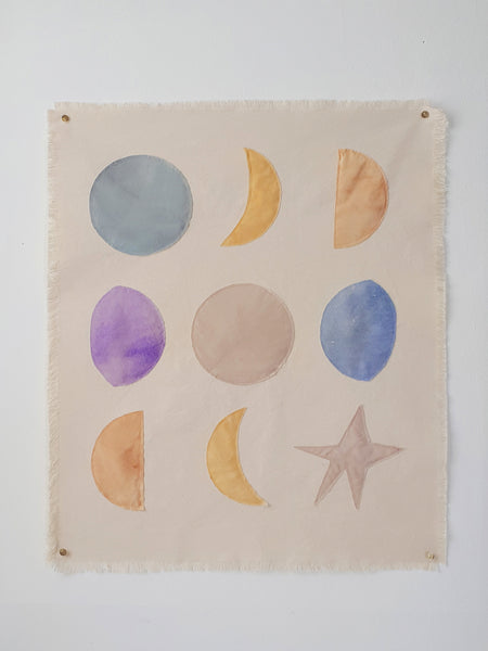 Wall hanging Moon Phases