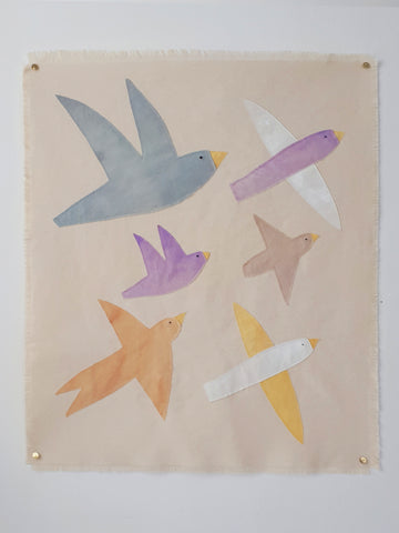 Wall hanging Birds