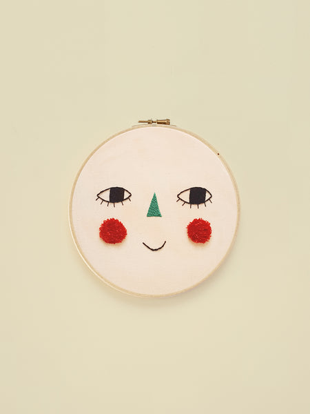 "Embroidery Hoop ""Cherry"""