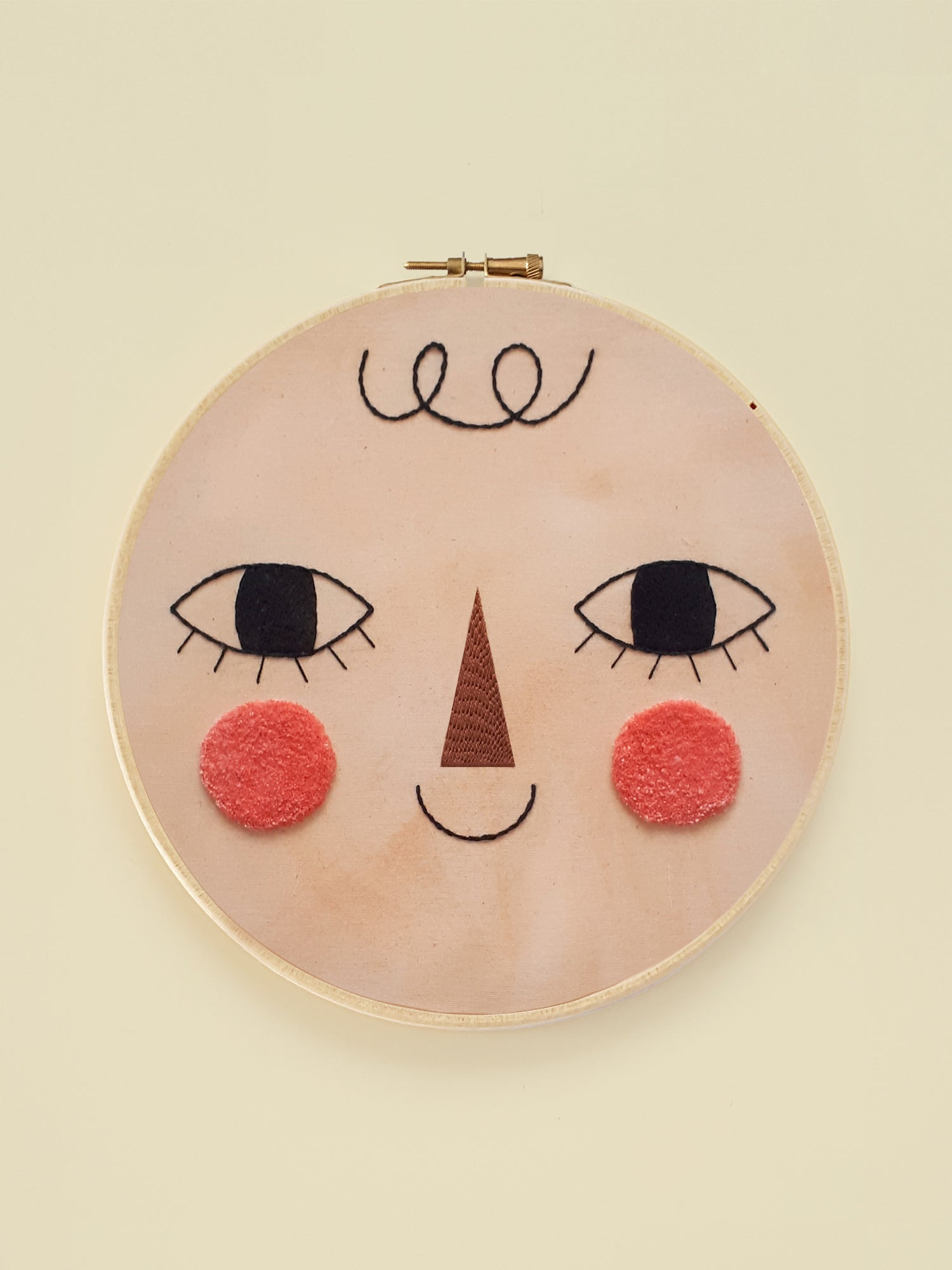 "Embroidery Hoop XL ""Friend One"""