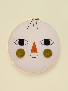 "Embroidery Hoop XL ""Friend Two"""