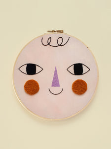 "Embroidery Hoop XL ""Friend Three"""