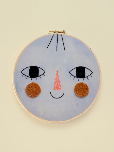 "Embroidery Hoop XL ""Friend Four"""
