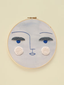 "Embroidery Hoop XL ""Luna"""