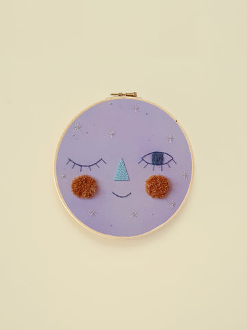 "Embroidery Hoop ""Sparkly"""