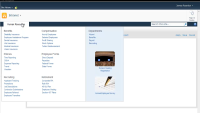 SharePoint Mega Menu Site and List Navigation