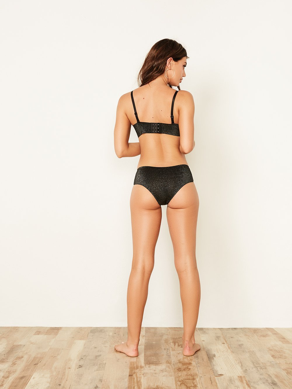 Shiny Laser Cut Hipseter Panty - Youmita Lingerie