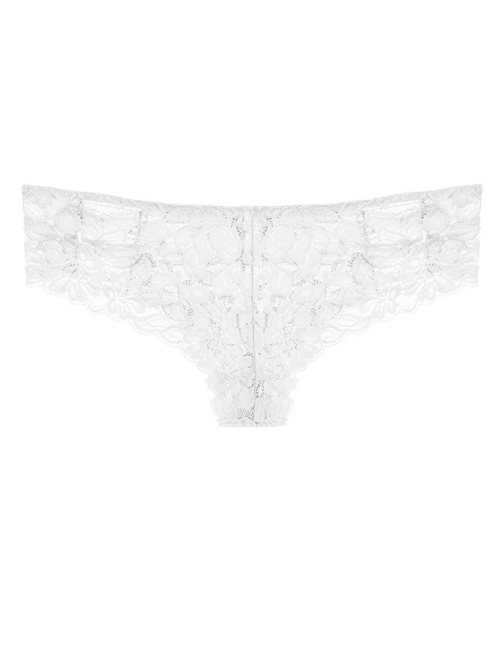Floral Lace Hipster Panty with Caging - Youmita Lingerie
