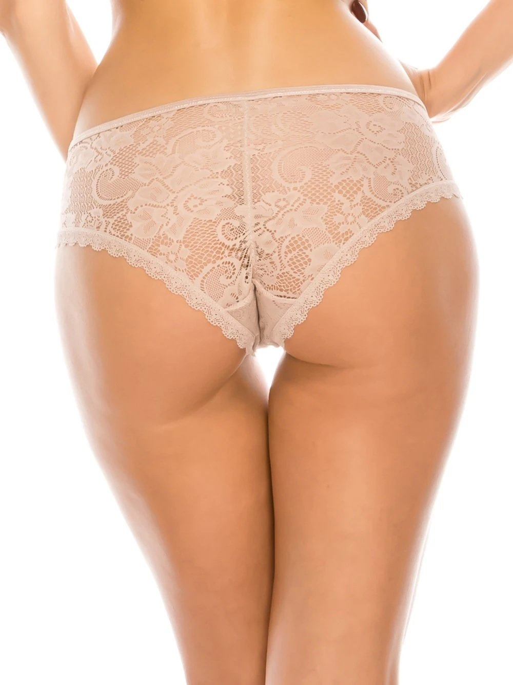 Lace Bikini with Open Side - Youmita Lingerie