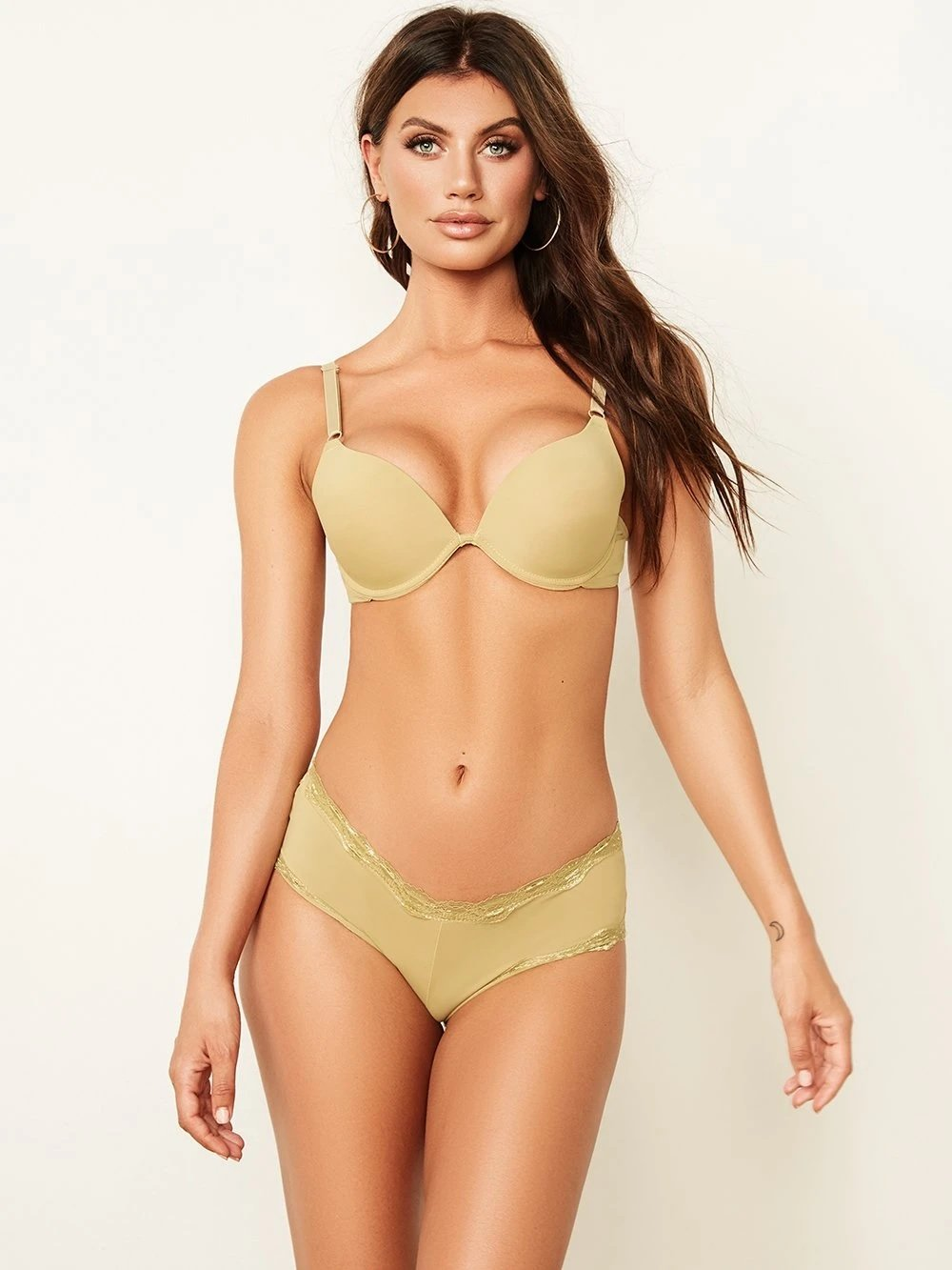 Solid Basic Push-Up Bra - Youmita Lingerie
