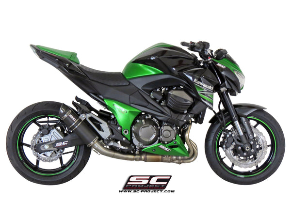 SC Project GP-Tech Slip-On Exhaust for Kawasaki Z800