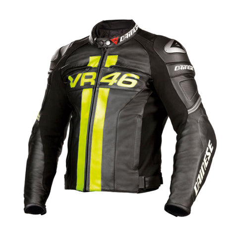 DAINESE VR46 LEATHER JACKET - EU52