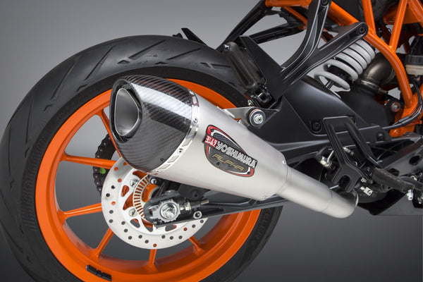 Yoshimura Alpha T Slip-On Exhaust for KTM RC 390