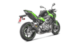 Akrapovic Carbon Slip-On Exhaust Kawasaki Z900 2017-2019
