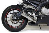 "Brocks Alien Head 2 Full Exhaust System 14"" Muffler for BMW S1000RR"
