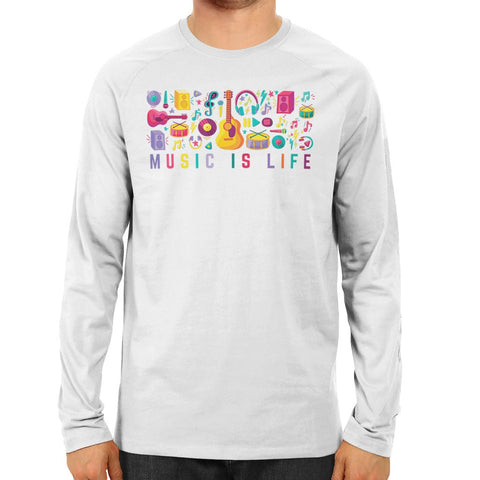Music is Life Full Sleeve T-shirt