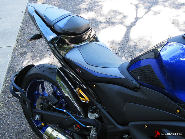 Luimoto Team Rider Seat Cover for Yamaha R3