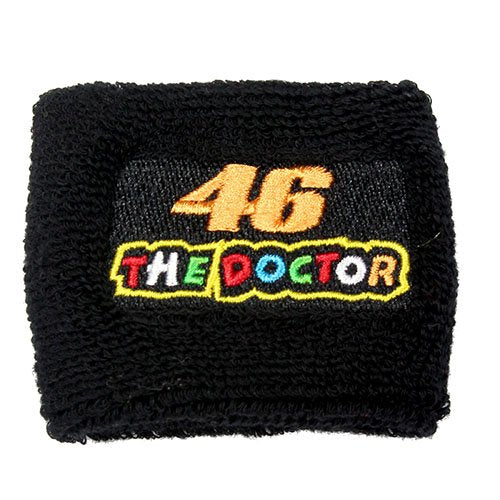 Rossi 46 'The Doctor' Black Brake Reservoir Sock Cover