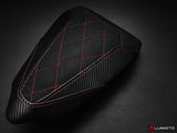 Luimoto Diamond Passenger Seat Cover for Ducati Panigale 959
