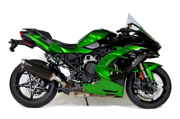 Brocks Predator Slip-On Exhaust for Kawasaki Ninja H2 SX