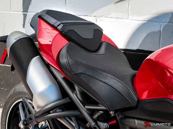 Luimoto Team Triumph Rider Seat Cover for Triumph Speed Triple RS
